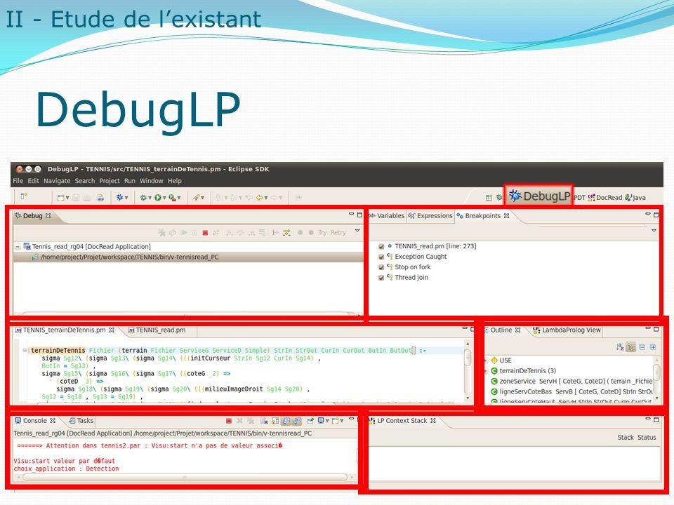 DebugLP II - Etude de l'existant