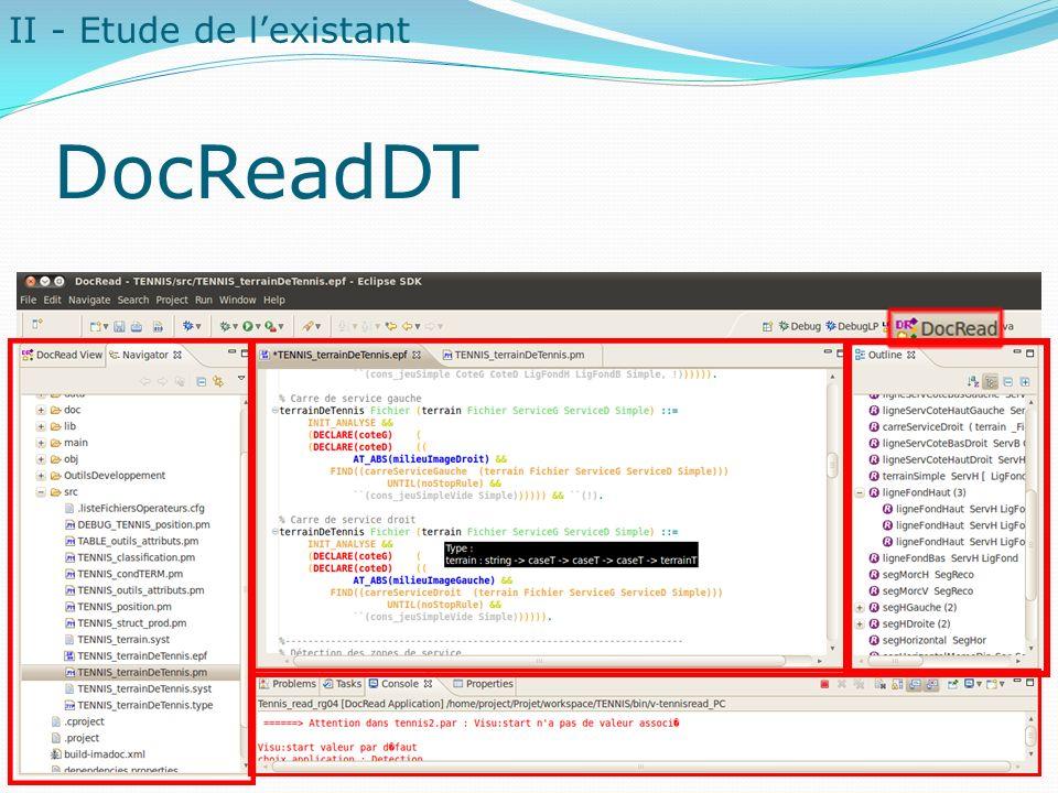 DocReadDT II - Etude de l'existant