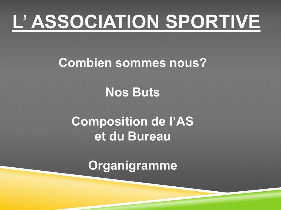 L' ASSOCIATION SPORTIVE