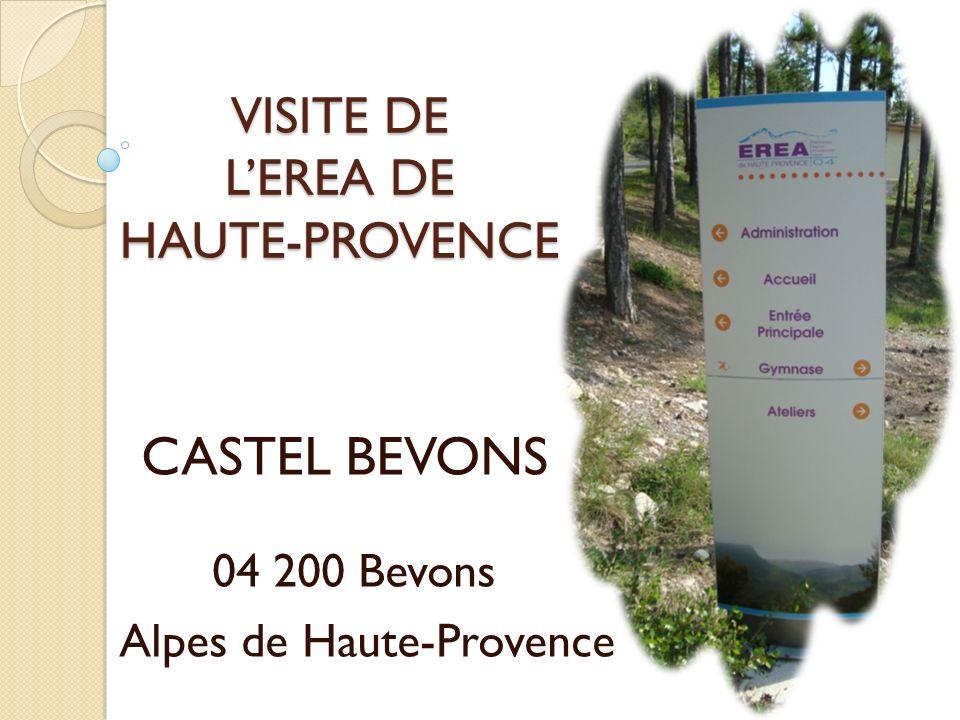 VISITE DE L'EREA DE HAUTE-PROVENCE