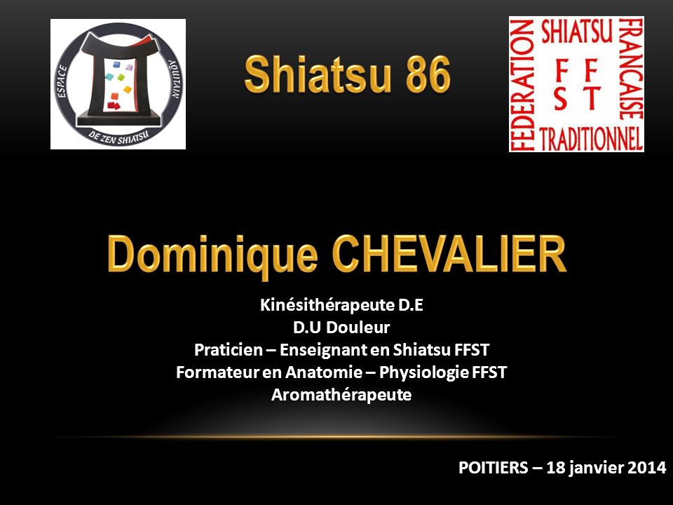 Shiatsu 86 Dominique CHEVALIER