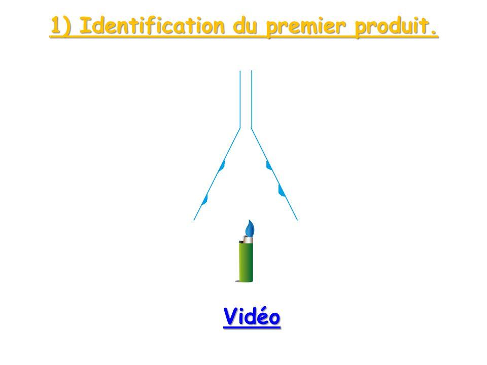 1) Identification du premier produit.