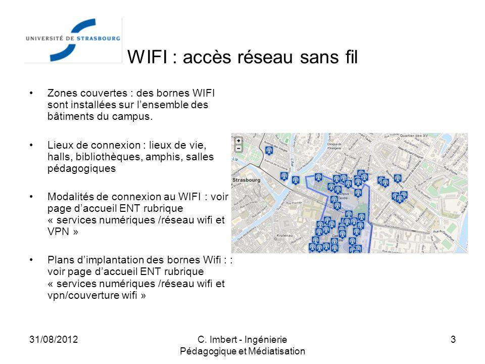 WIFI : accès réseau sans fil