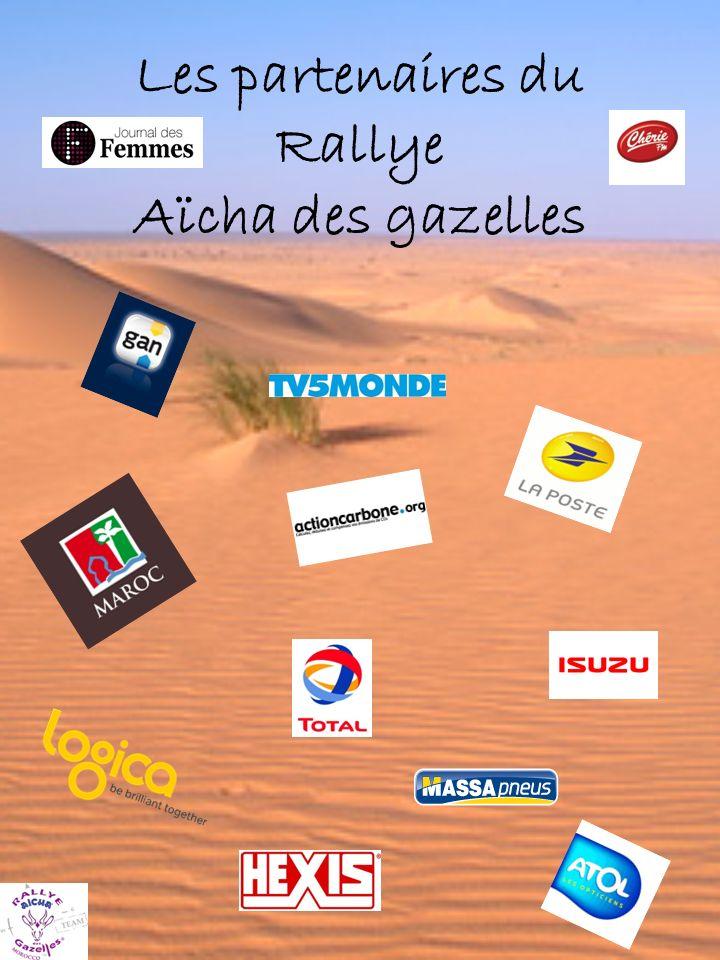 Les partenaires du Rallye