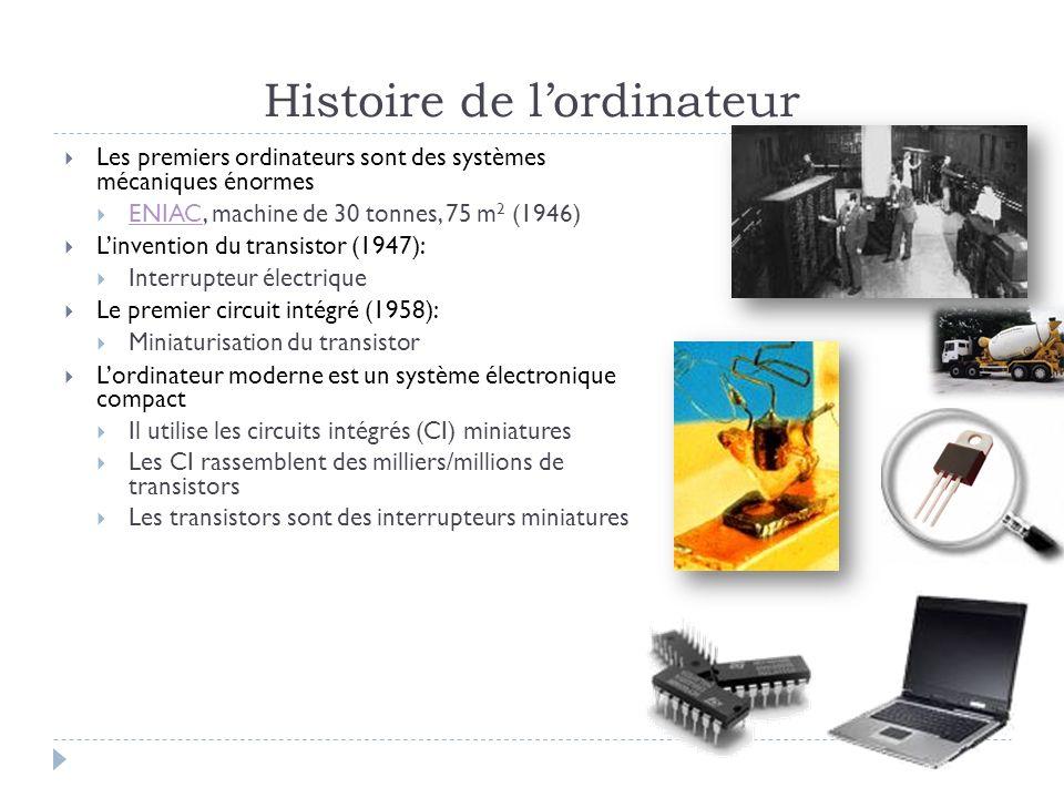 Configurer des syst mes d 39 exploitation 243 j28 sl cours 1 ppt t l charger - Invention de l ordinateur ...