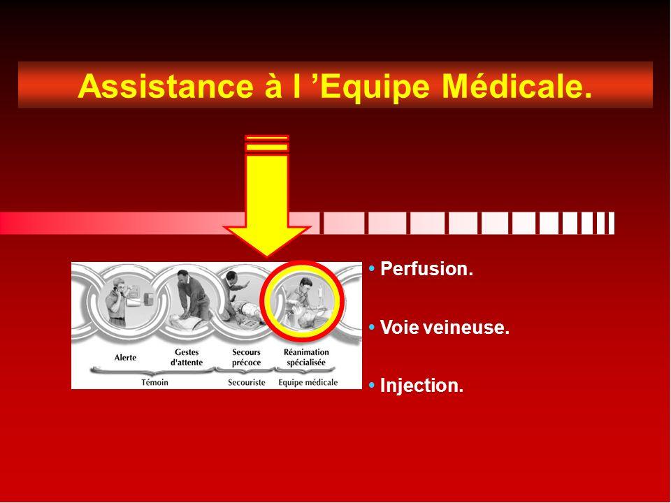 Assistance à l 'Equipe Médicale.