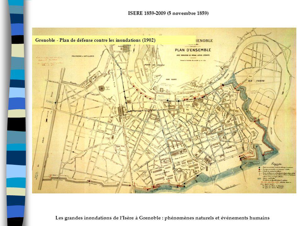 ActhYs (P4) Grenoble - Plan de défense contre les inondations (1902)