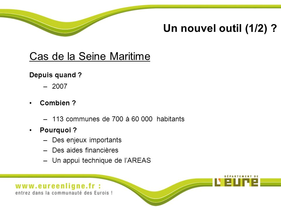 Cas de la Seine Maritime