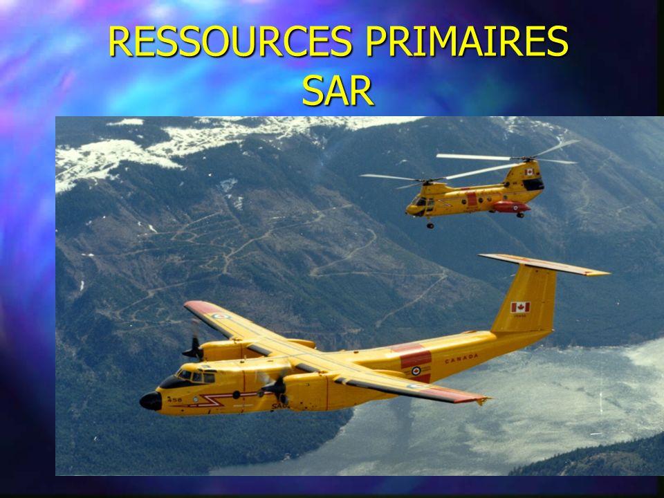RESSOURCES PRIMAIRES SAR