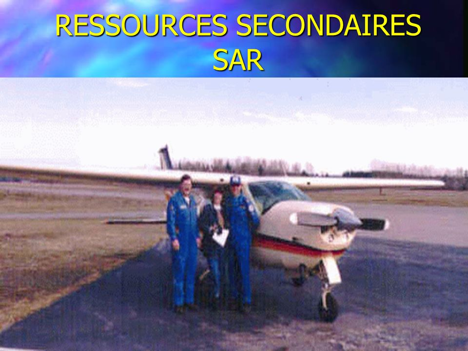 RESSOURCES SECONDAIRES SAR