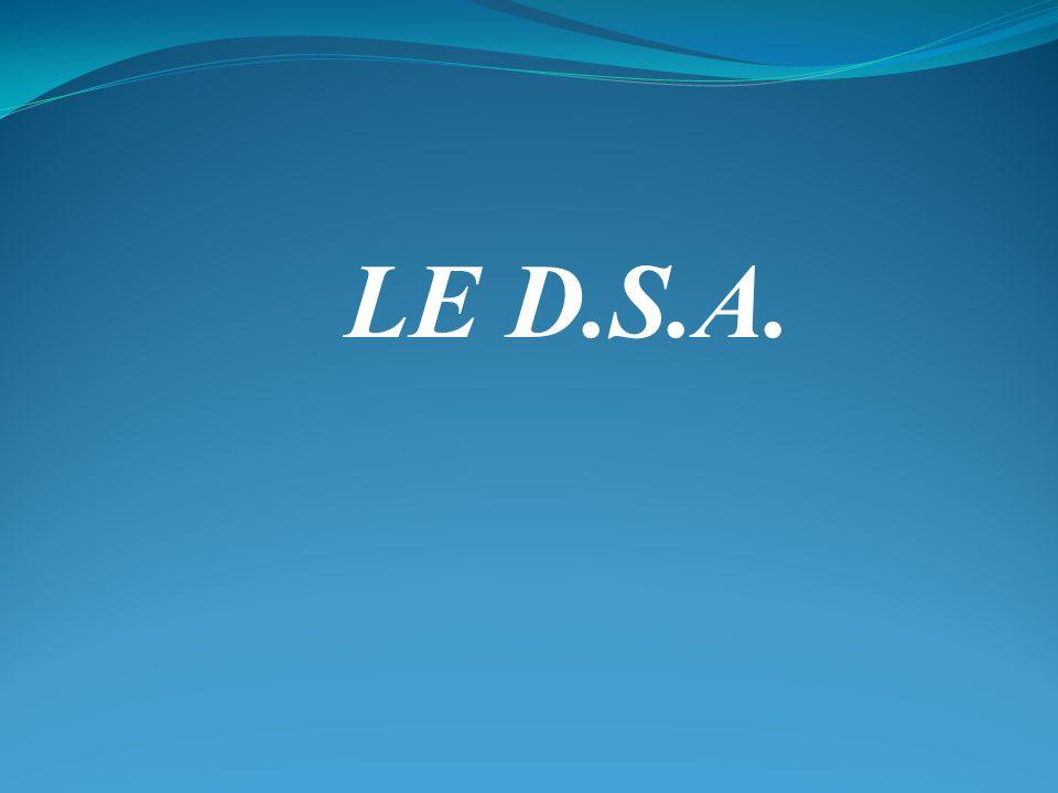 LE D.S.A.