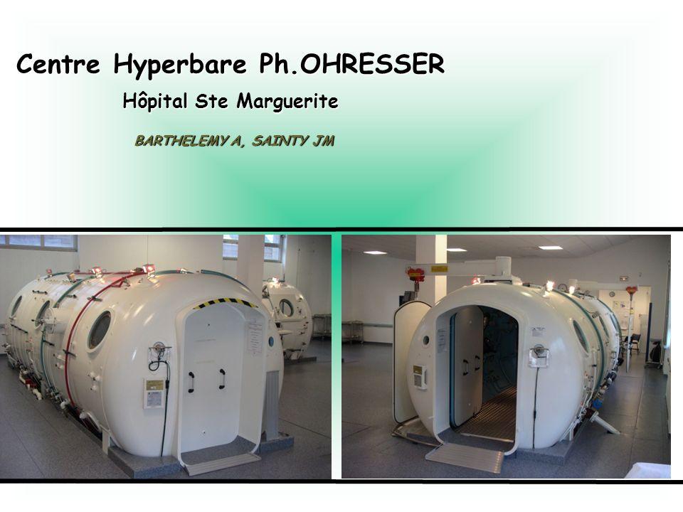 Centre Hyperbare Ph.OHRESSER Hôpital Ste Marguerite
