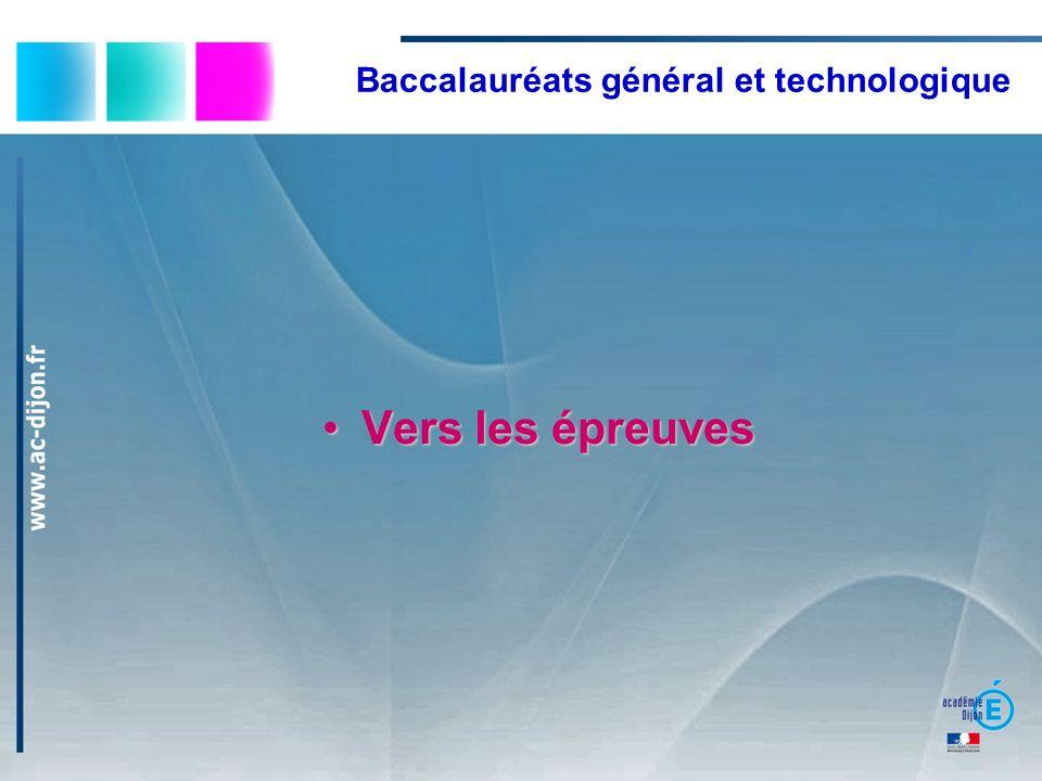 Baccalauréats général et technologique