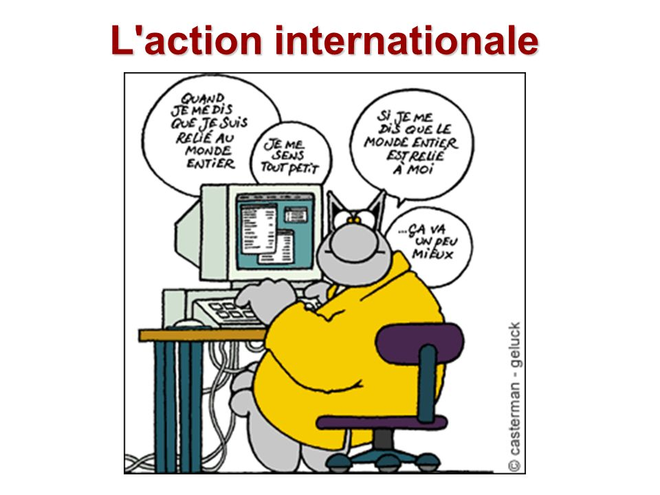 L action internationale