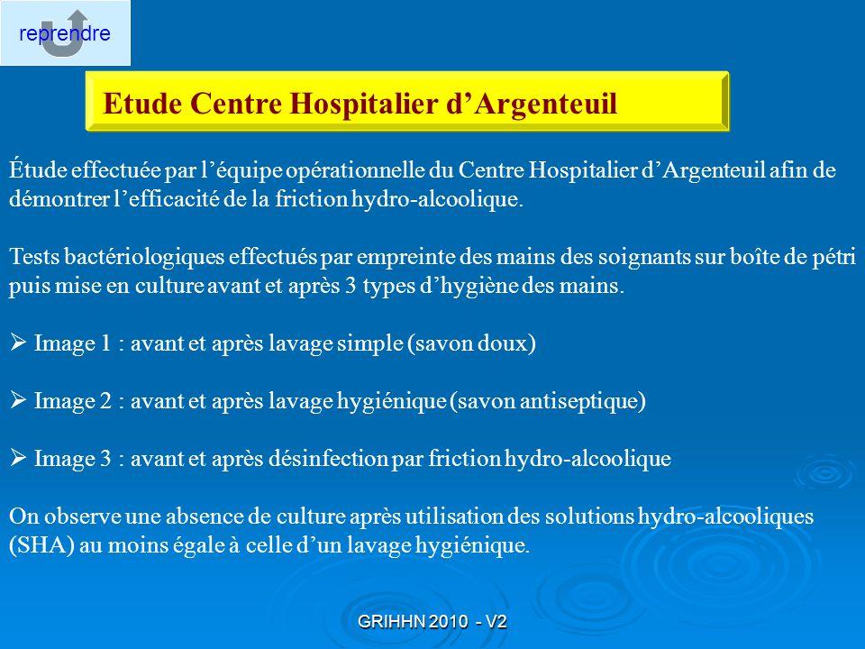 Etude Centre Hospitalier d'Argenteuil