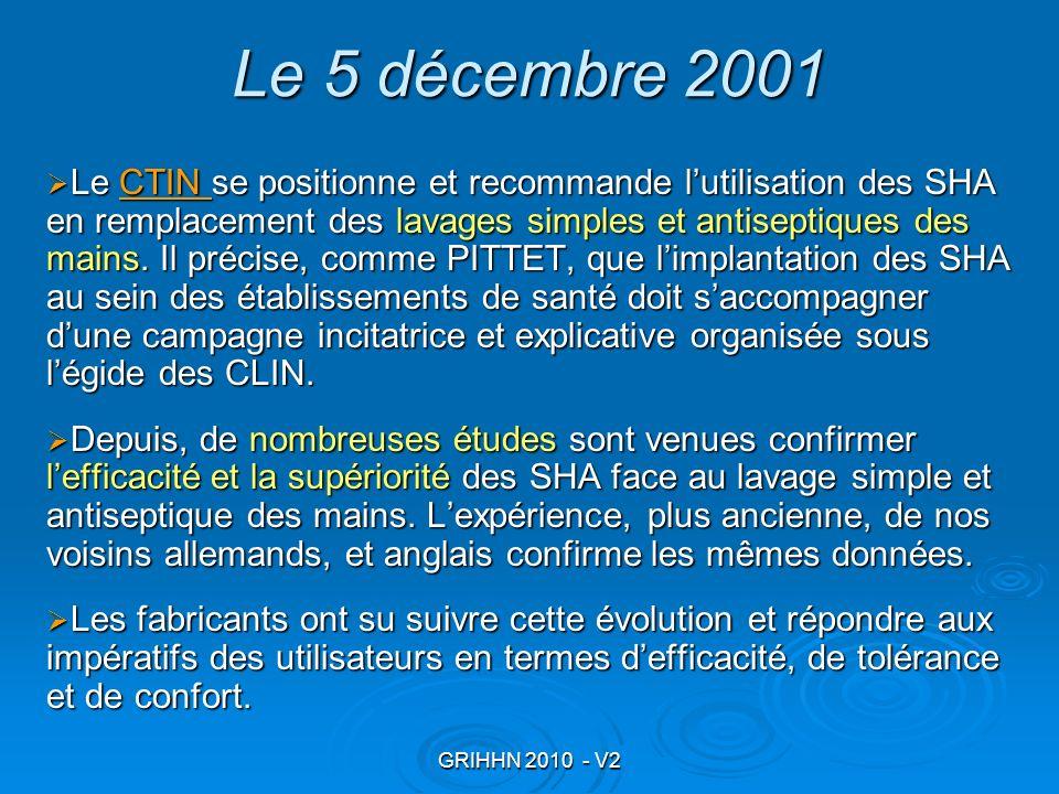 Le 5 décembre 2001