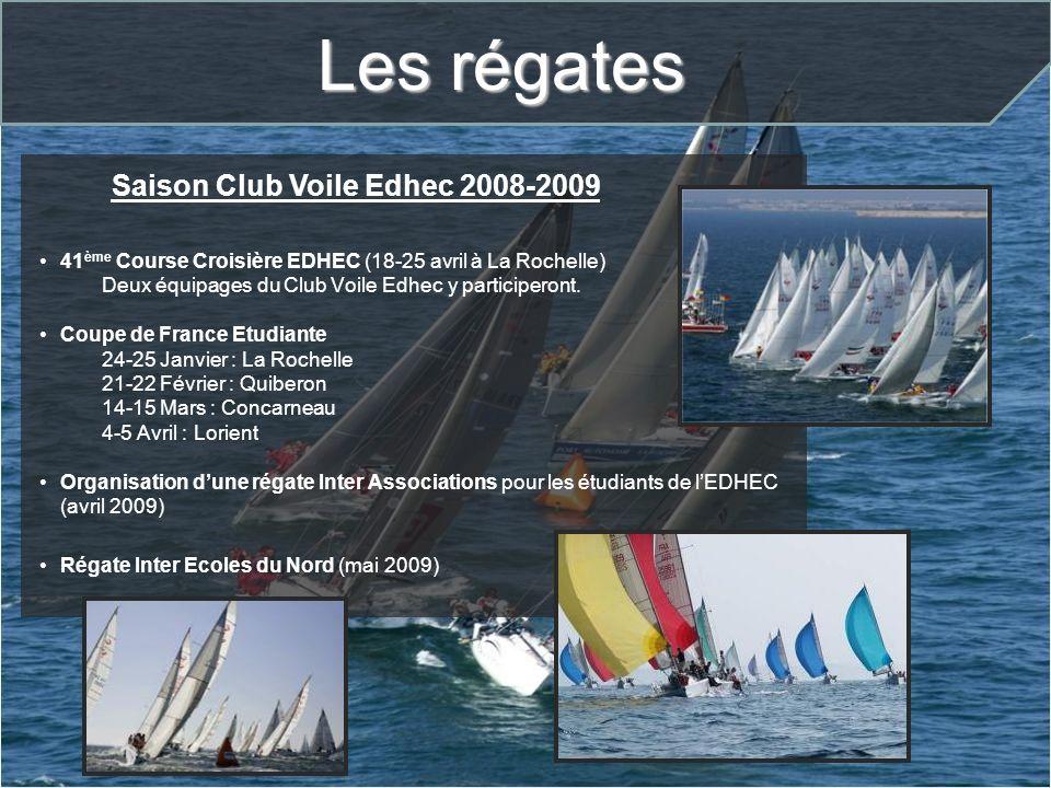Saison Club Voile Edhec 2008-2009
