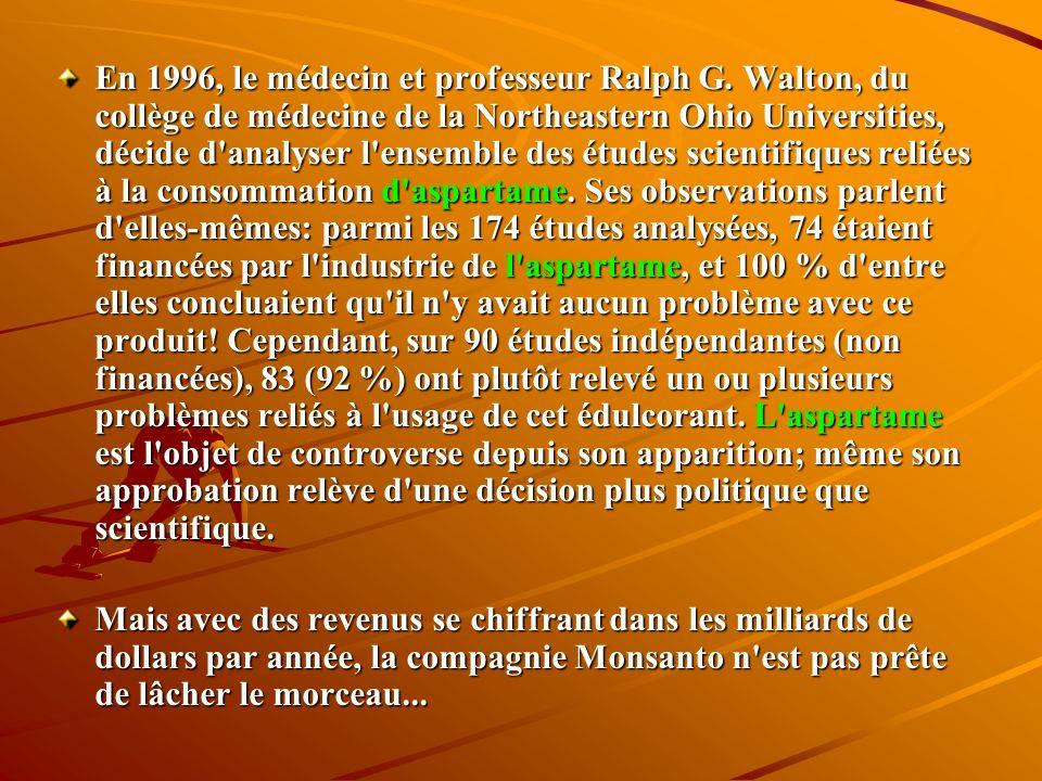 En 1996, le médecin et professeur Ralph G