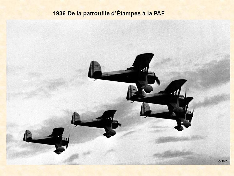 1936 De la patrouille d'Étampes à la PAF
