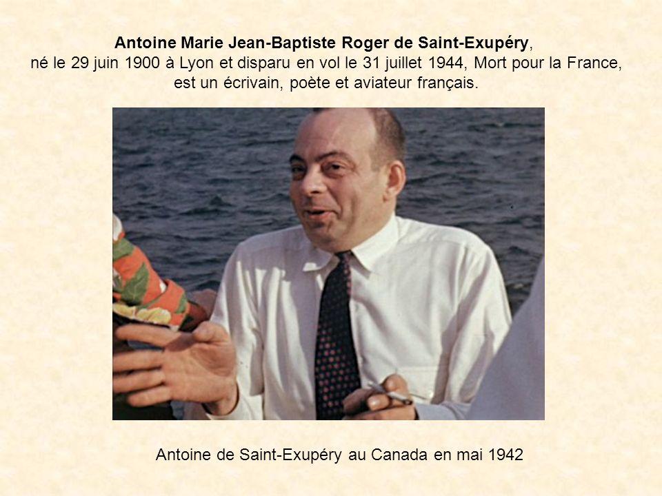 Antoine Marie Jean-Baptiste Roger de Saint-Exupéry,