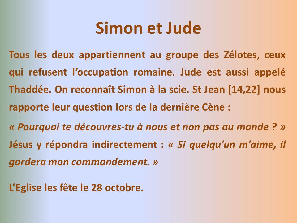 Simon et Jude