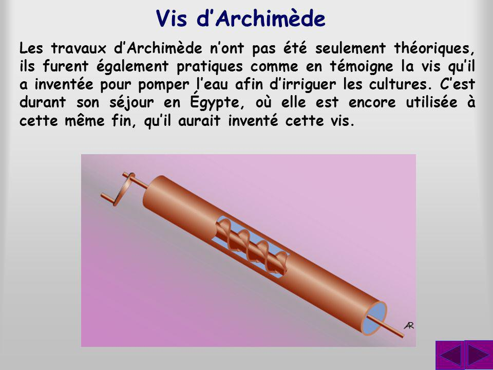 Vis d'Archimède