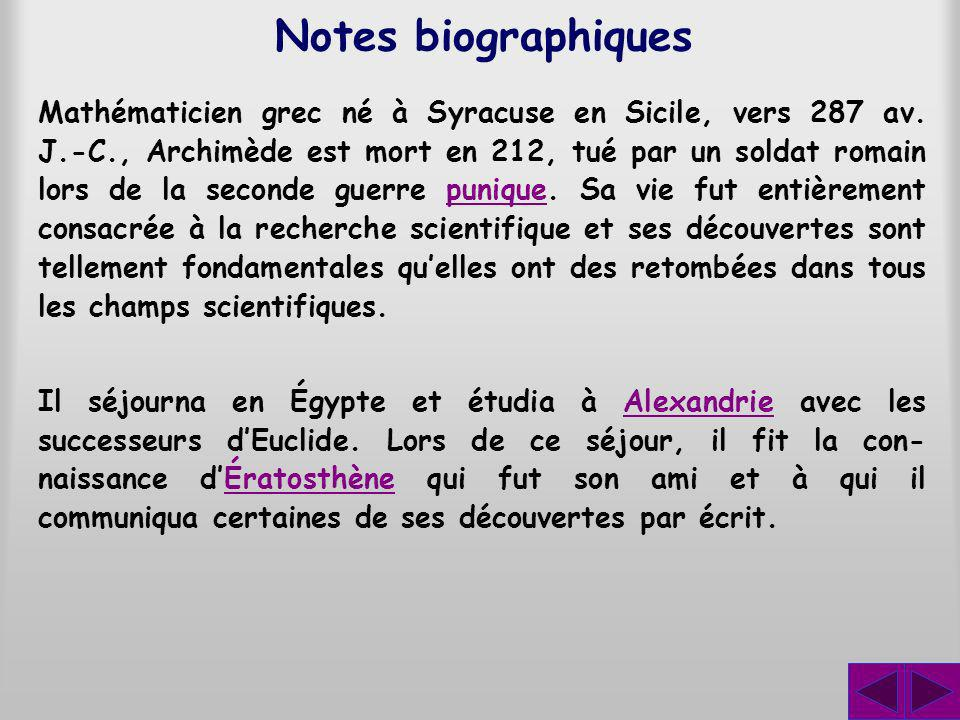 Notes biographiques