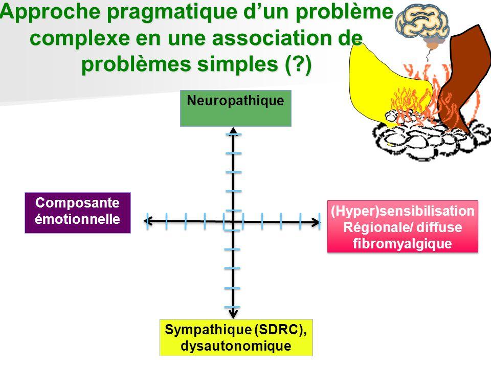 Approche pragmatique d'un problème complexe en une association de problèmes simples ( )