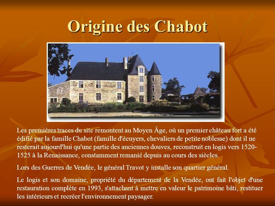 Origine des Chabot