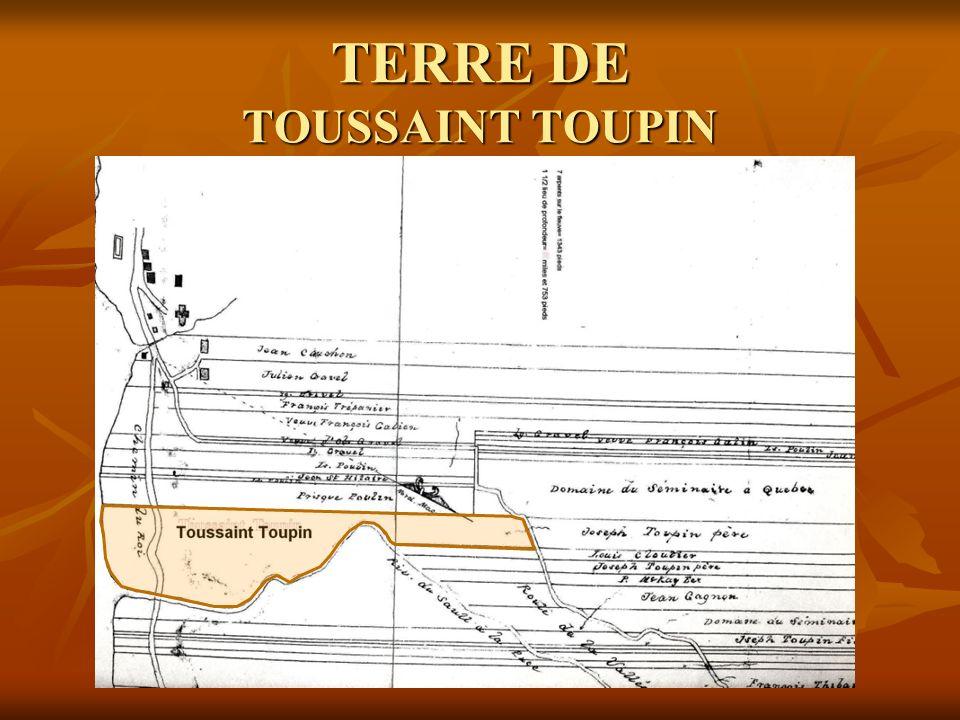 TERRE DE TOUSSAINT TOUPIN