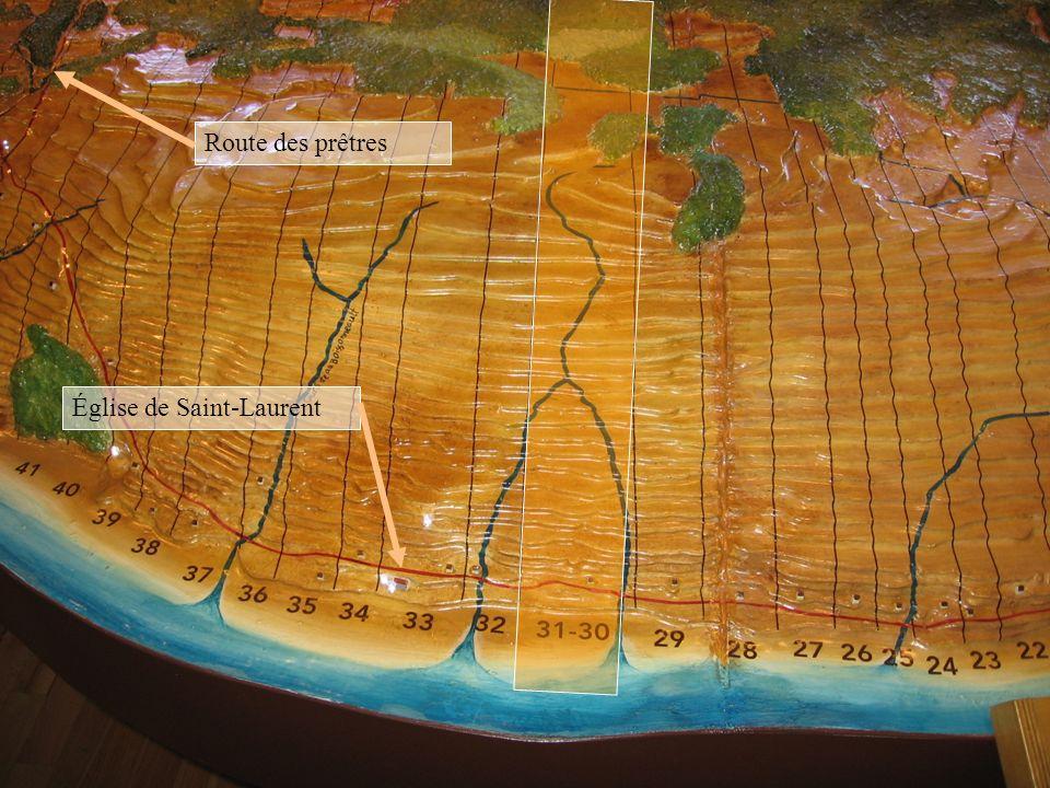 Mathurin Chabot Route des prêtres Église de Saint-Laurent