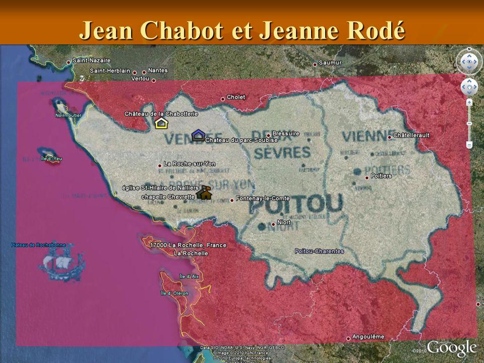 Jean Chabot et Jeanne Rodé père et mère de Mathurin
