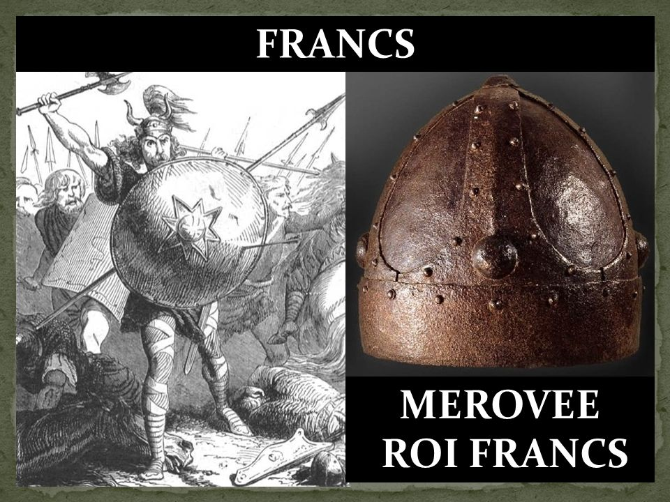 FRANCS MEROVEE ROI FRANCS