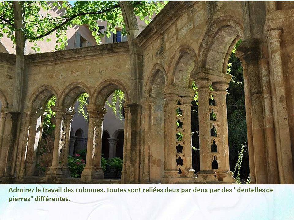 Admirez le travail des colonnes