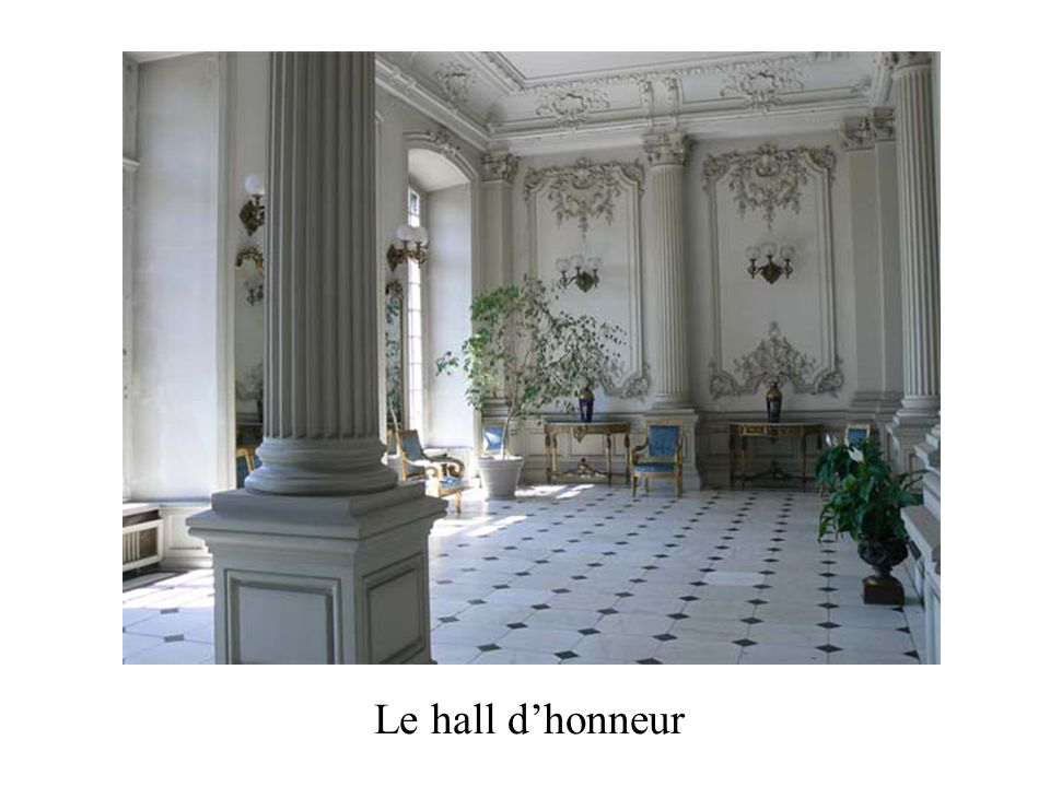 Le hall d'honneur
