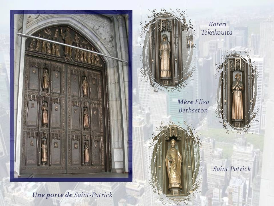 Une porte de Saint-Patrick