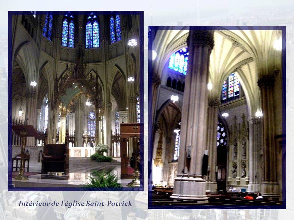 Intérieur de l'église Saint-Patrick