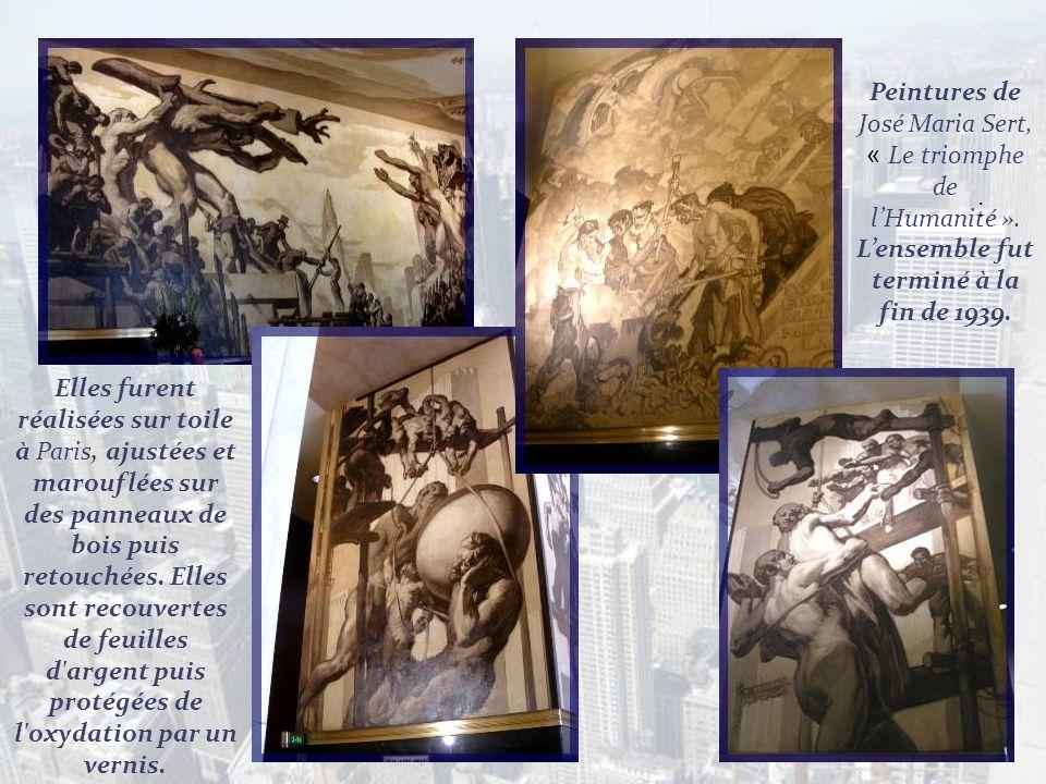 Peintures de José Maria Sert, « Le triomphe de l'Humanité »