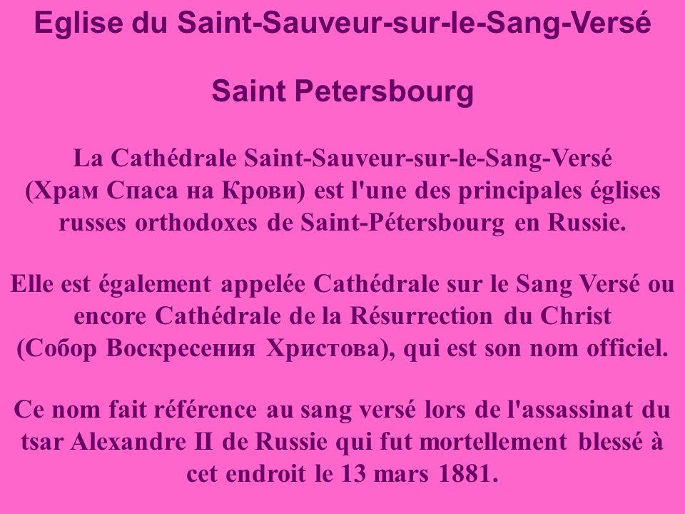 Eglise du Saint-Sauveur-sur-le-Sang-Versé