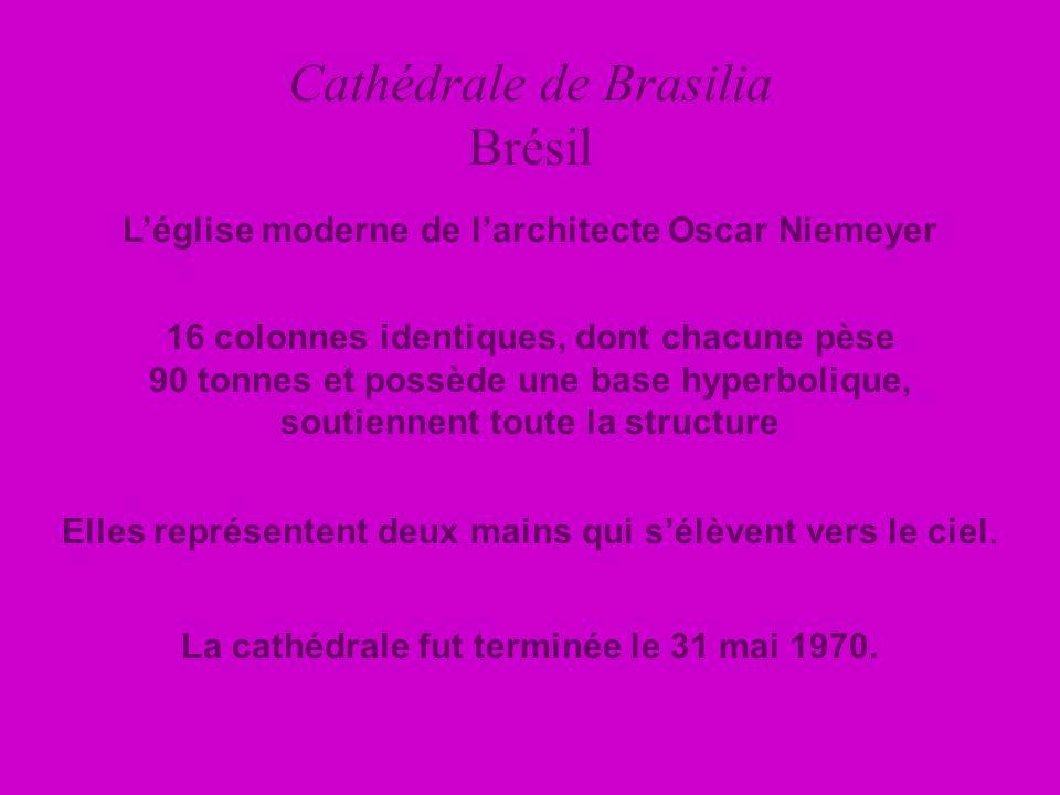 Cathédrale de Brasilia Brésil