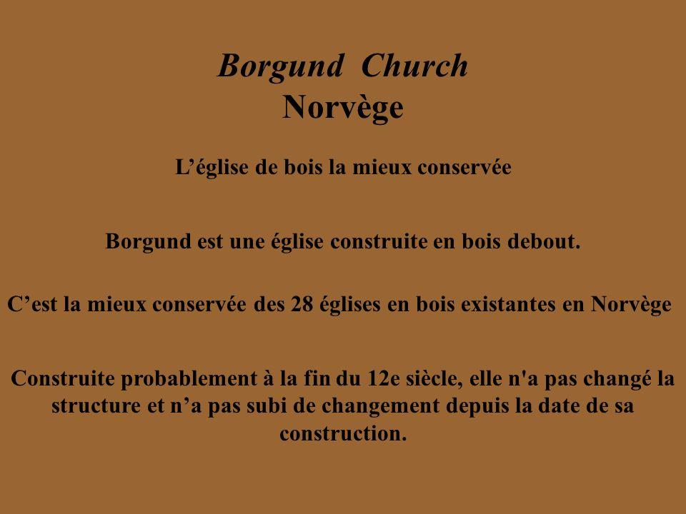 Borgund Church Norvège
