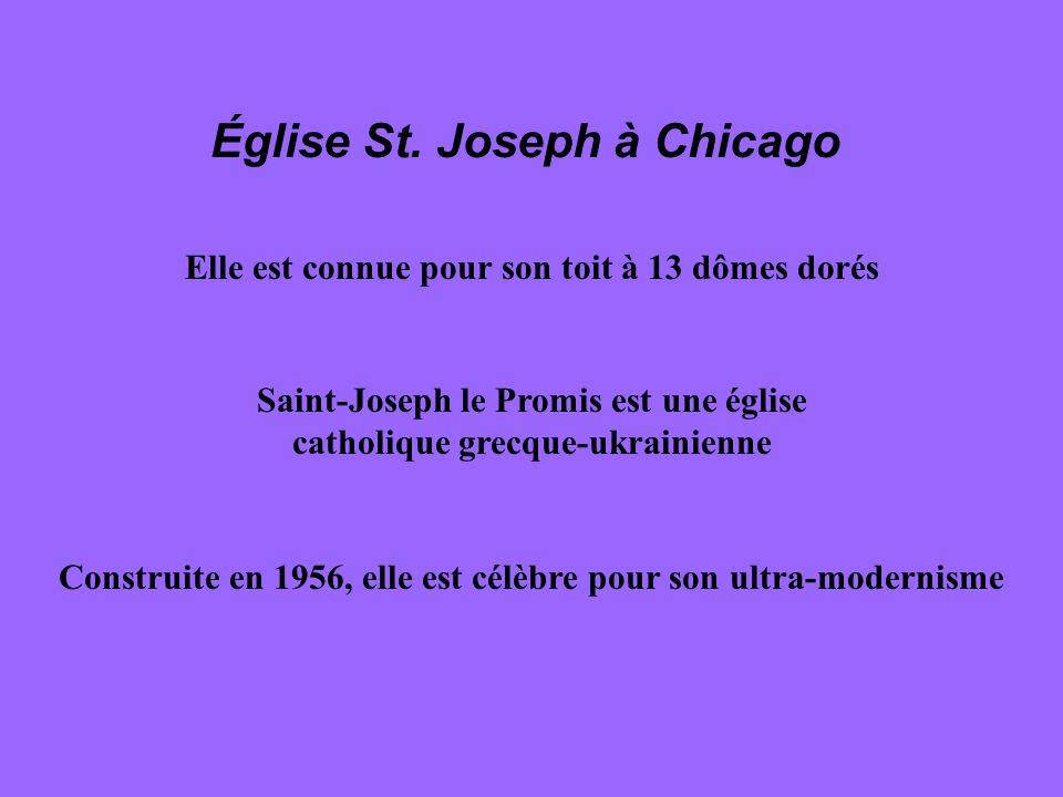 Église St. Joseph à Chicago