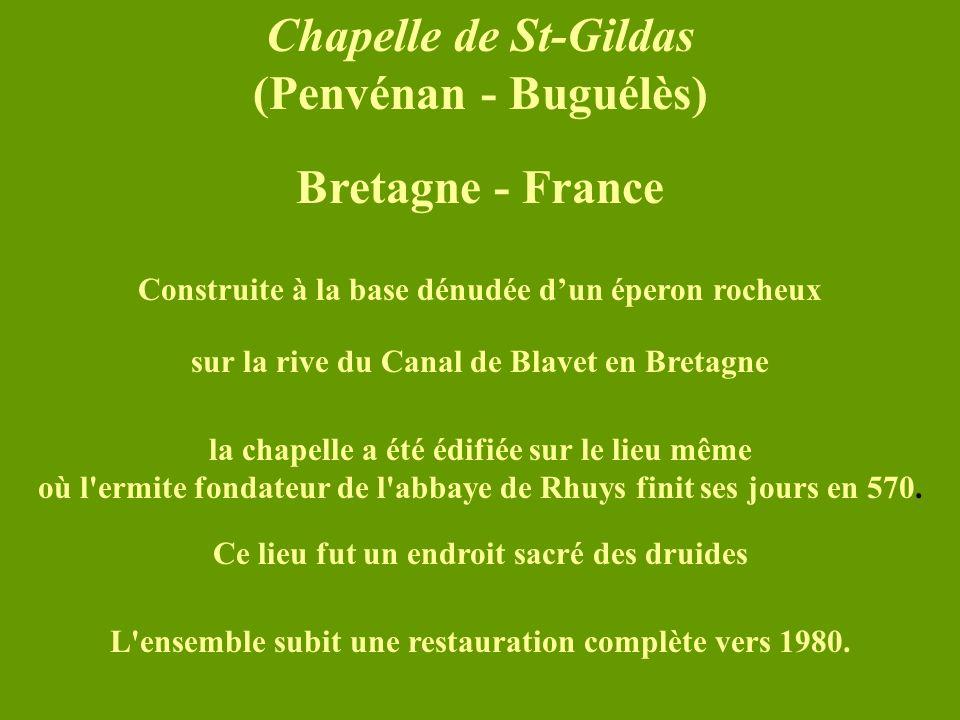 Chapelle de St-Gildas (Penvénan - Buguélès) Bretagne - France