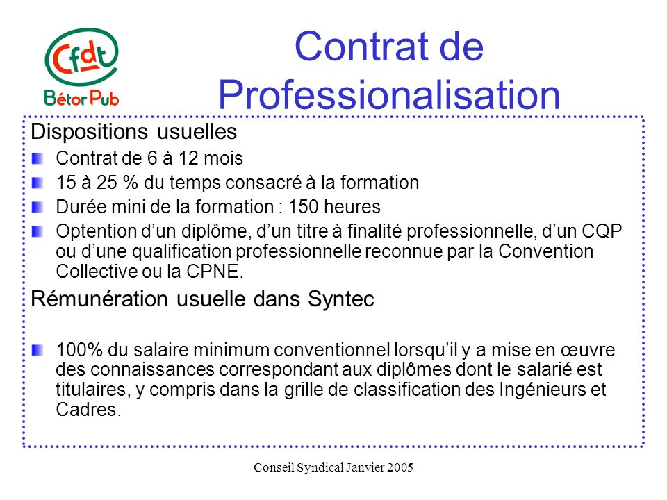 Formation professionnelle continue ppt t l charger - Grille de classification syntec ...