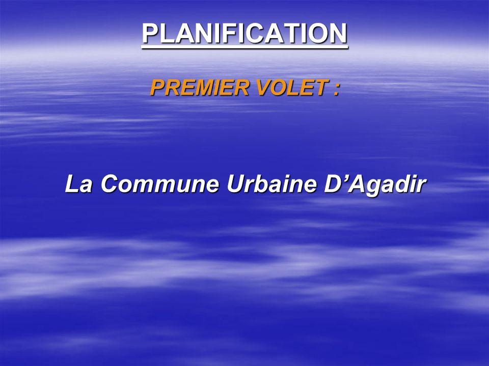 La Commune Urbaine D'Agadir
