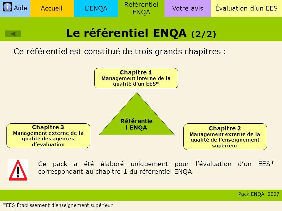 Le référentiel ENQA (2/2)