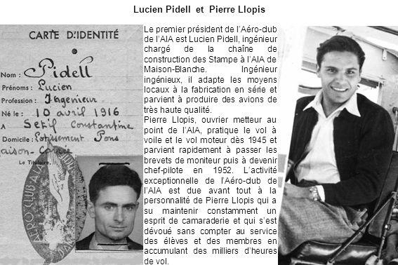 Lucien Pidell et Pierre Llopis
