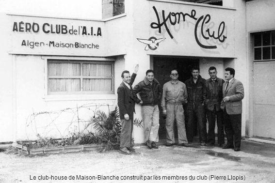 Le club-house de Maison-Blanche construit par les membres du club (Pierre Llopis)