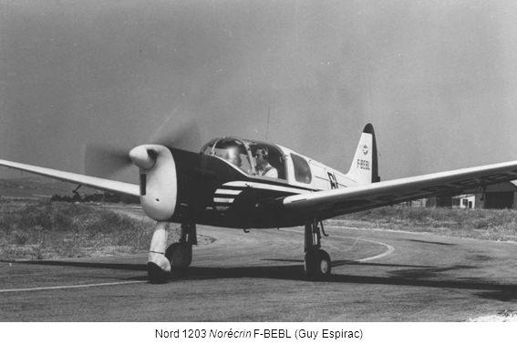 Nord 1203 Norécrin F-BEBL (Guy Espirac)