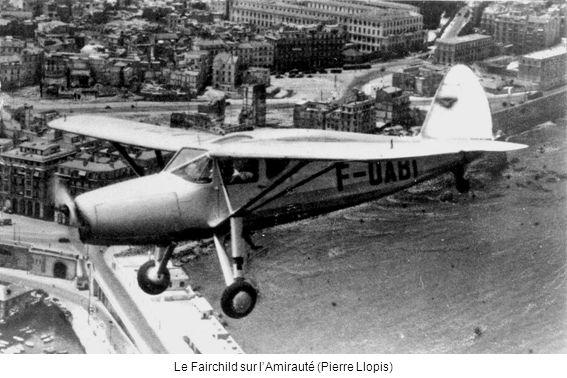 Le Fairchild sur l'Amirauté (Pierre Llopis)
